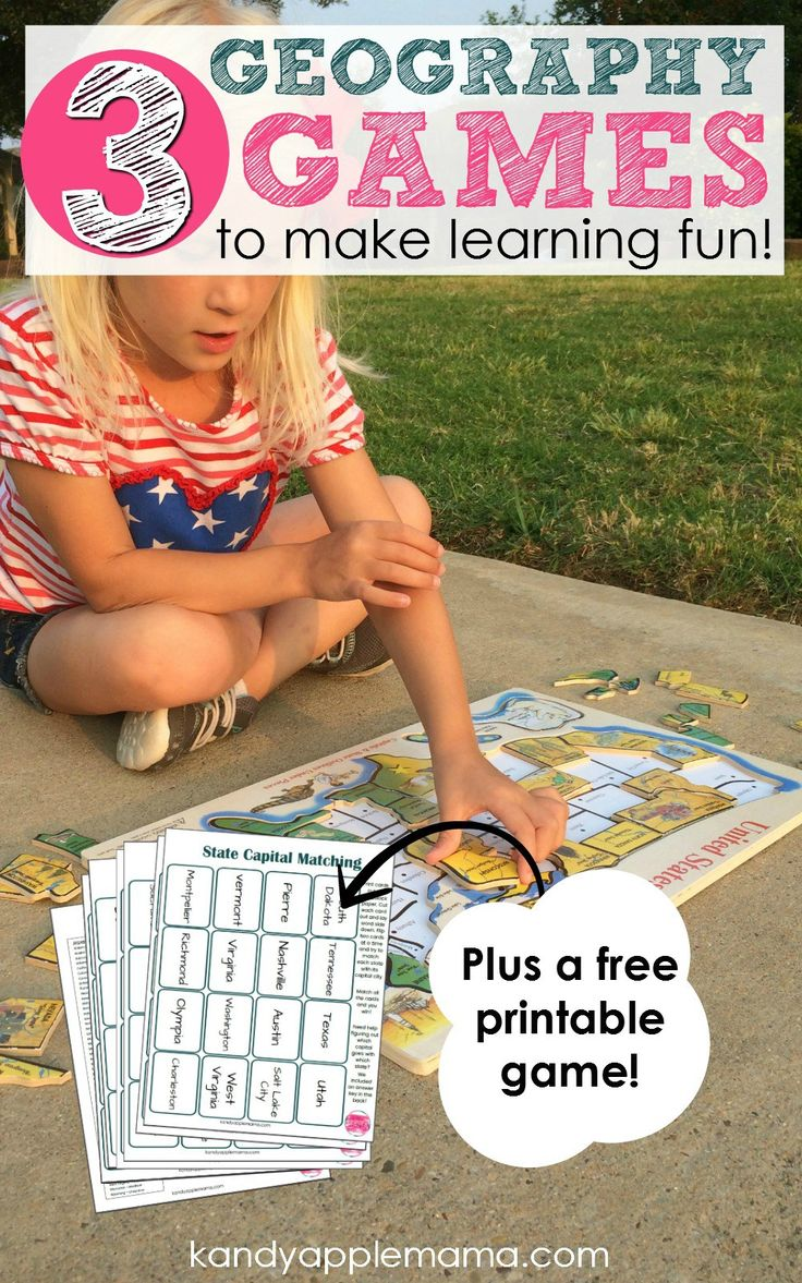 Mastering The United States Of America With Fun Geography Games - Free geography games