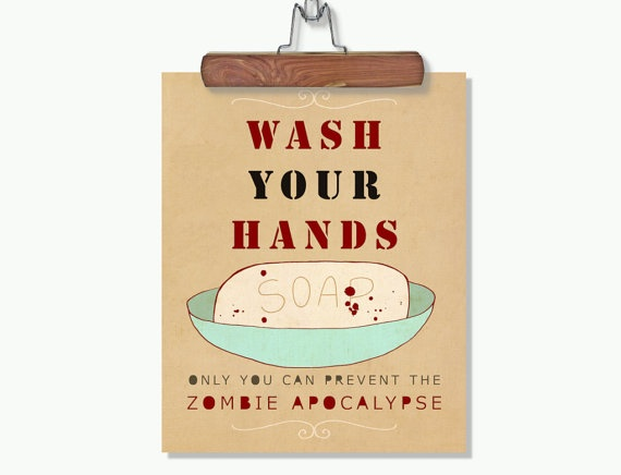 Zombie Bathroom Signs 47 best zombie bedroom! images on pinterest | the walking dead