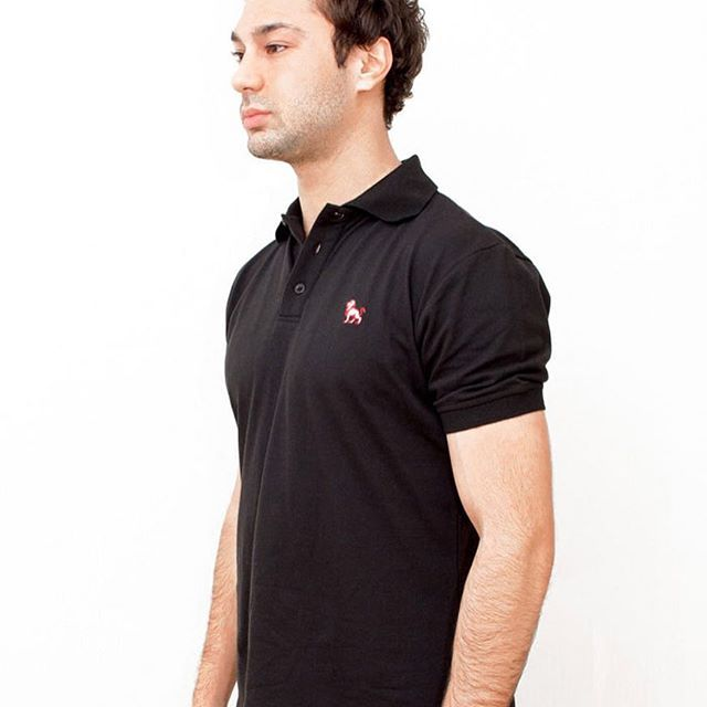 Our slim fit red lion polo shirt is now available! 😍🦁 20% of all proceeds go directly to helping endangered #lions! 🦁🦁🦁🦁 #animals