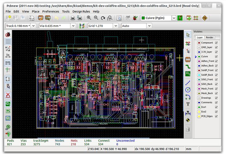 An new browser based Electronics builder EasyEDA board