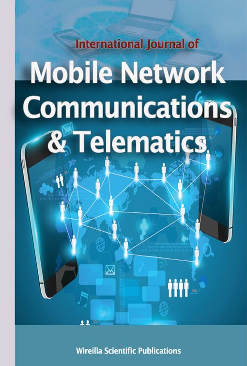 International journal of Mobile Network Communications & Telematics ( IJMNCT)    ISSN : 1839 - 5678    http://wireilla.com/ijmnct/index.html      Important Dates      Submission Deadline : September 17, 2016   Notification : October 17, 2016   Final Manuscript Due : October 25, 2016   Publication Date : Determined by the Editor-in-Chief