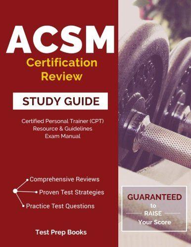 Acsm Study Guide - wsntech.net