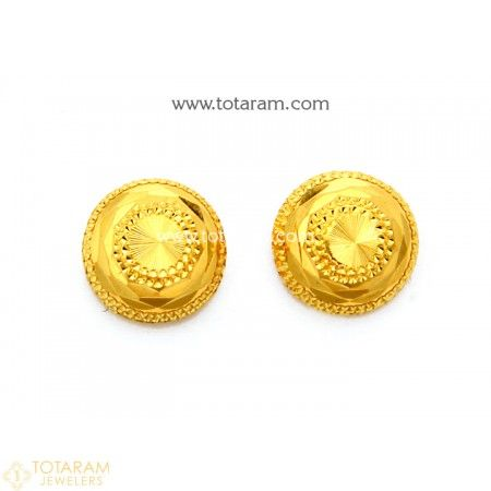 496bda1b388482 22K Gold Earrings for Women - 235-GER7876 - Buy this Latest Indian Gold  Jewelry Design in 3.000 Grams for a low price of $195.99