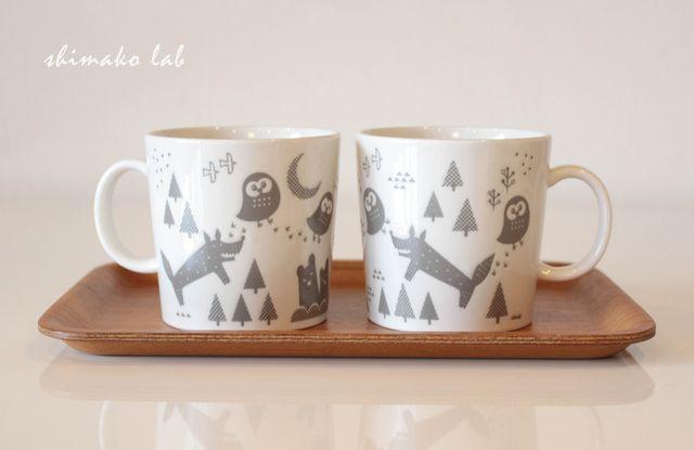 minne(ミンネ)| 森の動物マグカップ