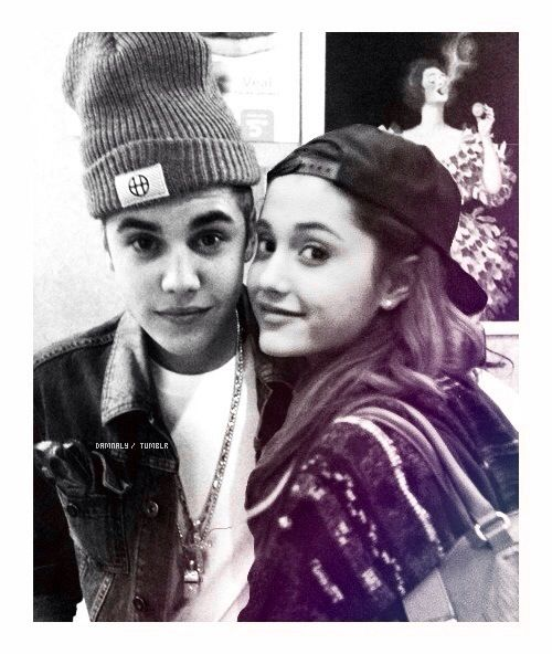 Ariana Grande and Justin Bieber...they would be so cute together