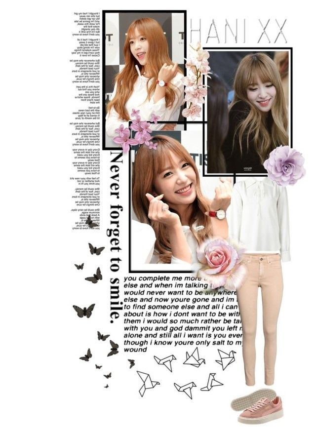 """""""Exid Hani"""" by shook-squad on Polyvore featuring art"""