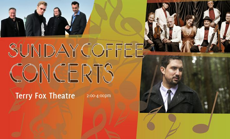Sunday coffee concert at Terry Fox Theatre