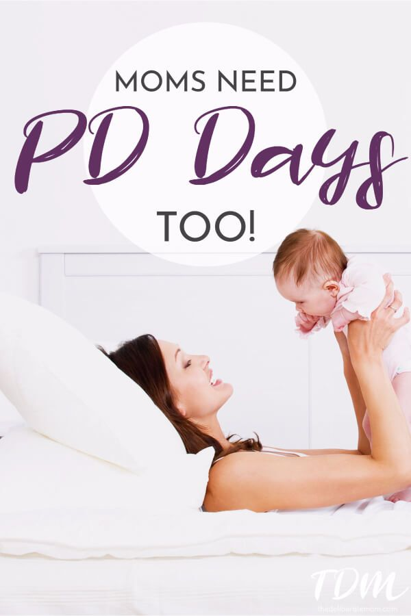 Hey beautiful mama! Are you frazzled, stressed, or overwhelmed? Moms need PD Days too! Here's how you can get a Mom PD Day... and it's free! #momlife #momhelp