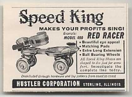 Roller skates hustler