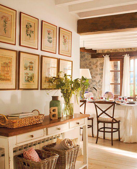 M s de 1000 ideas sobre casas r sticas en pinterest for Decoracion hogar rustico