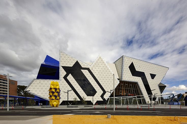 Perth Arena,© Peter Bennetts