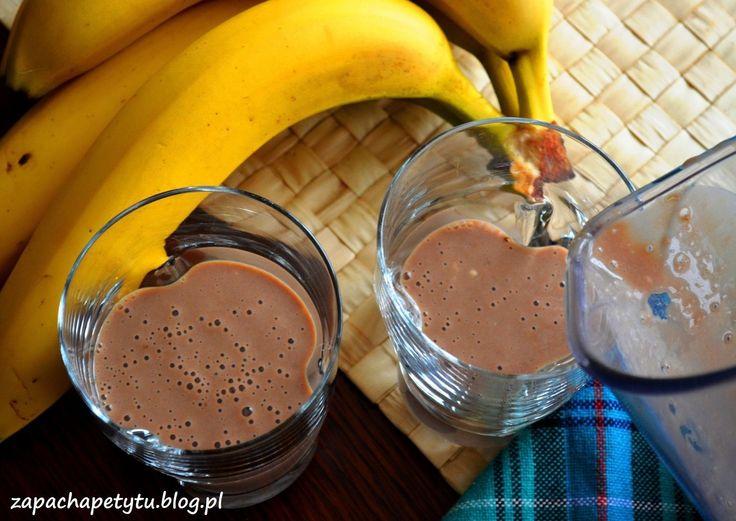 Chocolate banana smoothie #chocolate #banana #smoothie #eatclean #foodblog #polishgirl #health
