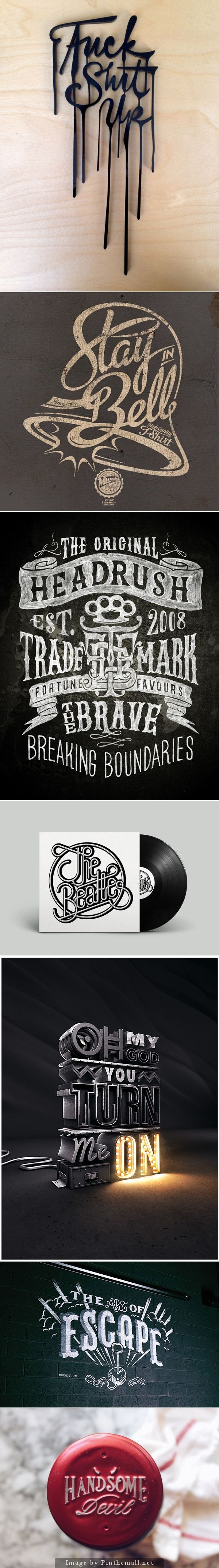 creative typography - created via http://pinthemall.net
