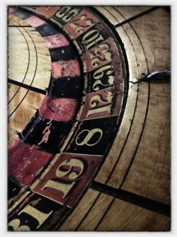 Vintage Roulette table