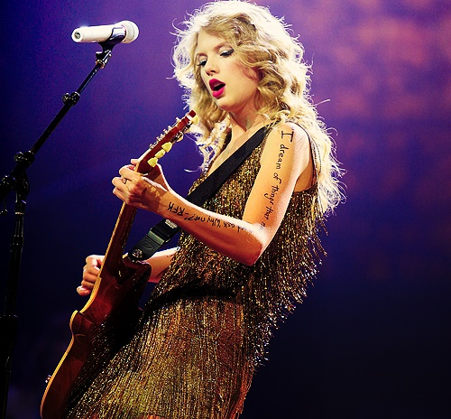Taylor Swift - opened for a big country concert in Irvine I went to with my parents. She was 18 and nobody had ever heard of her. That was a fun show - and I liked her better back then!