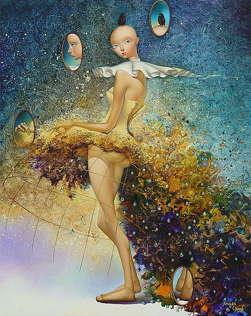 Oksana Yambykh-  French painter born in Ukraina,born 1966 in Poltava, Ukraine