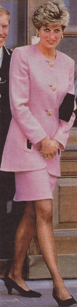 pink jacket with pink skirt