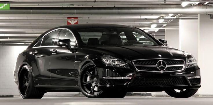 Mercedes CLS 63 AMG mit geschmiedeten, 3-teiligen Felgen Typ 6Sporz² in 10,0+12,0x20 Zoll sowie elektromechanischem Spezial Gewindefahrwerk by Wheelsandmore