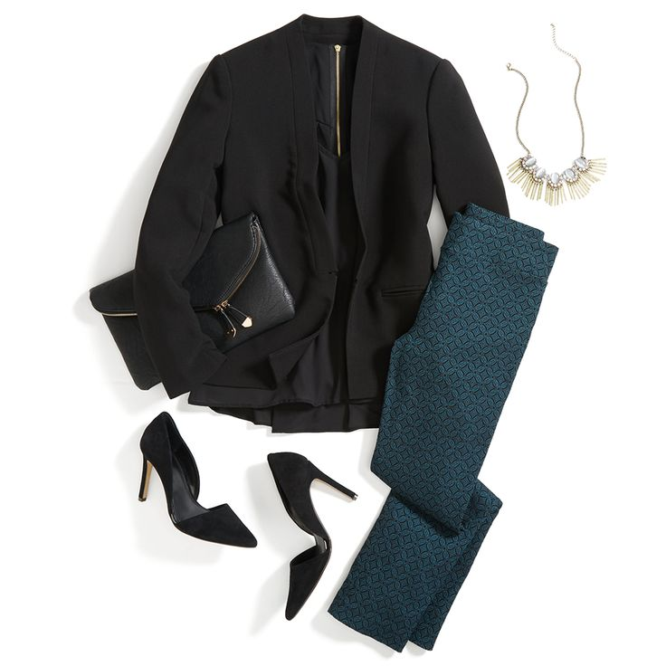 Pants (holiday) party! The Emer trouser is the modern alternative to the LBD. See 3 ways to dress them up on the blog.