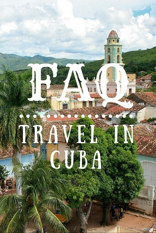 We get asked many questions regarding first-time travel to Cuba. It may seem like an intimidating place to travel, but it isn't. It is the safest place to travel in the western hemisphere! Here are the answers to our most frequently asked questions! #travel #cuba