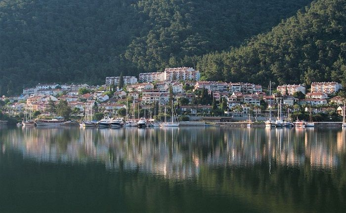Beautiful Fethiye on the south coast of Turkey. Home to famous places like the Blue Lagoon and Kayakoy ghost village.