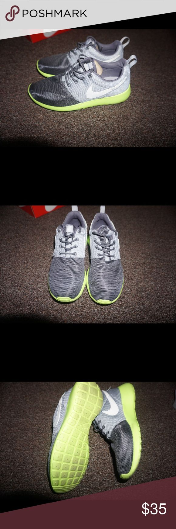 Nike Roshe Runs Size 4.5 = 6.5 Womens Worn once, no box Nike Shoes Sneakers