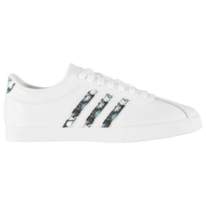 adidas Court Set Leather Ladies Trainers | Womens Trainers ...