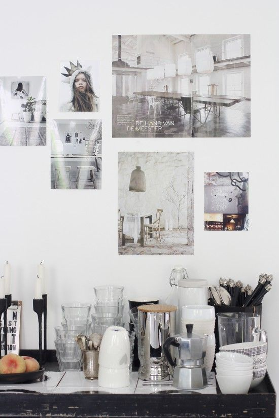 Inside Scoop: Monochrome Amsterdam Abode // Photography by Holly Marder {Avenue Lifestyle}