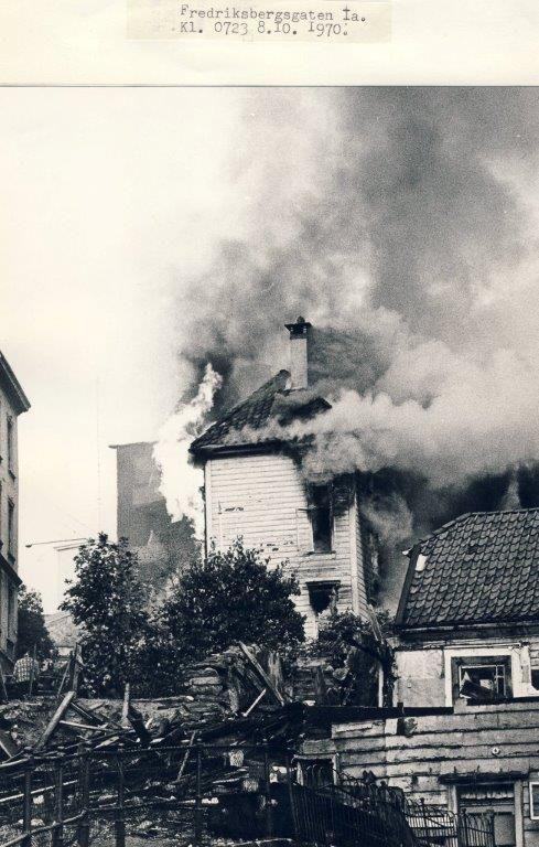 Foto: Kjersti Borge Aase. For 46 år siden brant det i fredriksberg gate1a