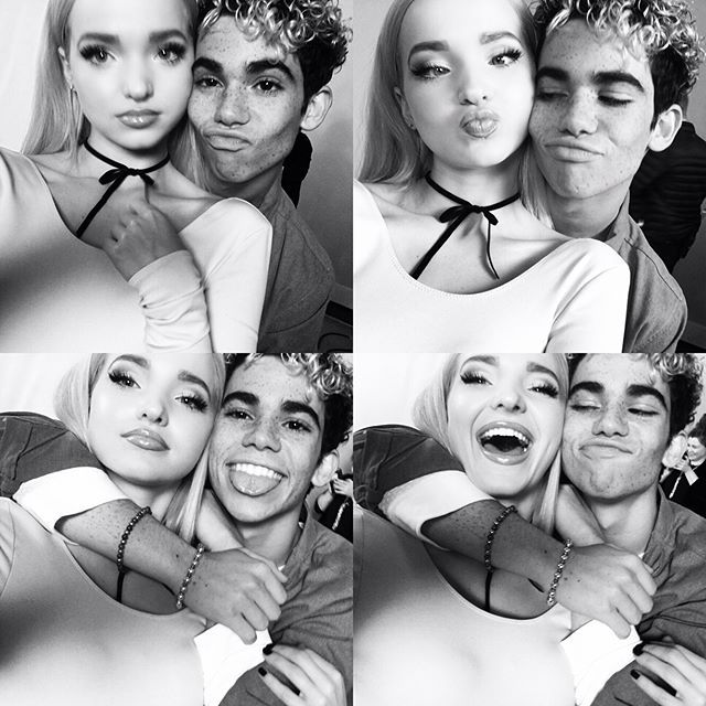 dovecameron: i am late, i am so so late--BUT: this post is dedicated to my little brother/favorite freckly human/the one who i laugh with the most. HAPPY BIRTHDAY, UGLY. thank you for always taking care of me when i cry for no reason/hiding my phone in your costume while we film & for whispering the moves in my ear when i don't know what i'm doing. cheeEESE. i love you forever