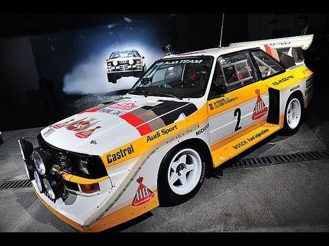 WRC Car地下駐車場を激走!