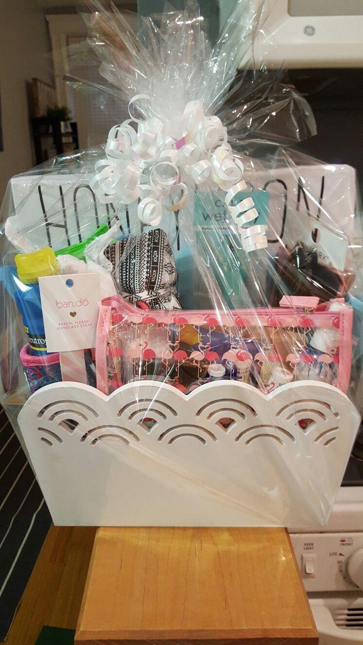 25+ unique Honeymoon gift baskets ideas on Pinterest ...