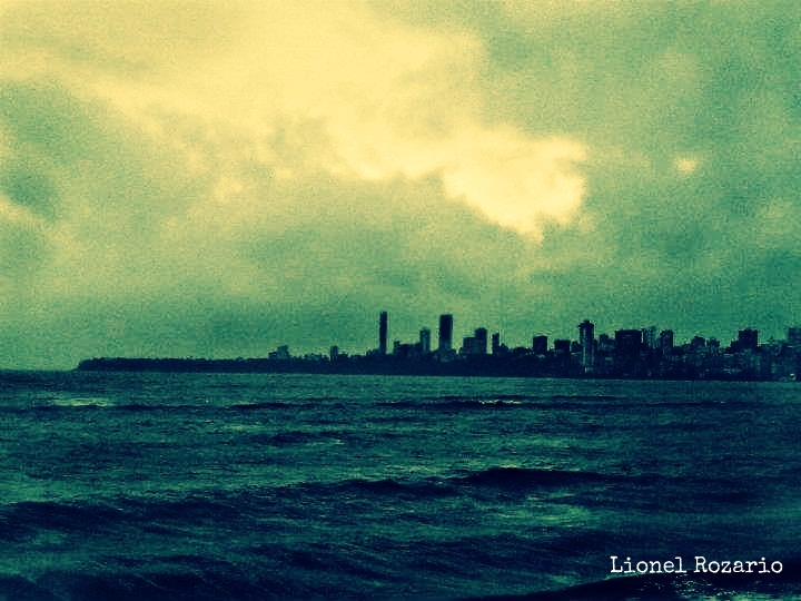 Sea Green, Sea Blue. #Bombay
