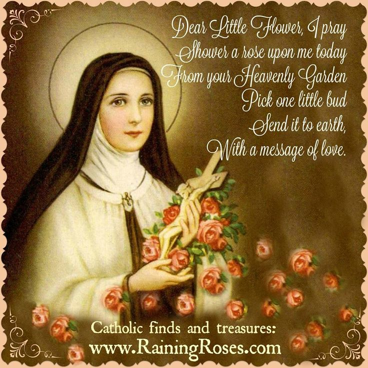 st therese of lisieux quotes on mary