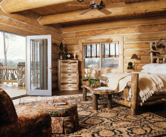 17 Best Images About Log Home Interior Designs On