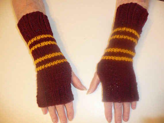 Gryffindor Wrist Warmers, $12.99