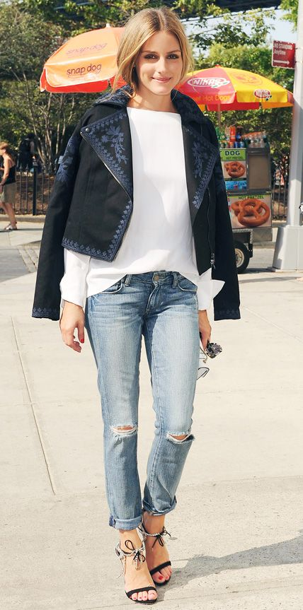 Olivia Palermo's 56 Best Looks Ever - August 24, 2014 from #InStyle