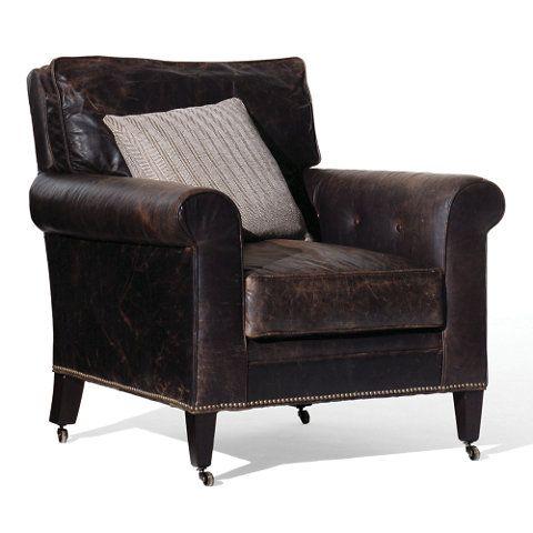 Redmond Club Chair - Chairs / Ottomans - Furniture - Products - Ralph Lauren Home - RalphLaurenHome.com