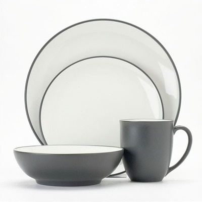 Noritake Colorwave Graphite 16 Piece Set  sc 1 st  Pinterest & 15 best Everyday Dinnerware images on Pinterest | Dinnerware sets ...