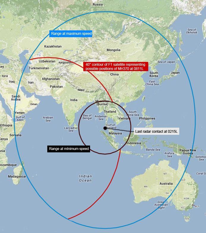 Flight MH370 — search data in Google Earth | Ogle Earth