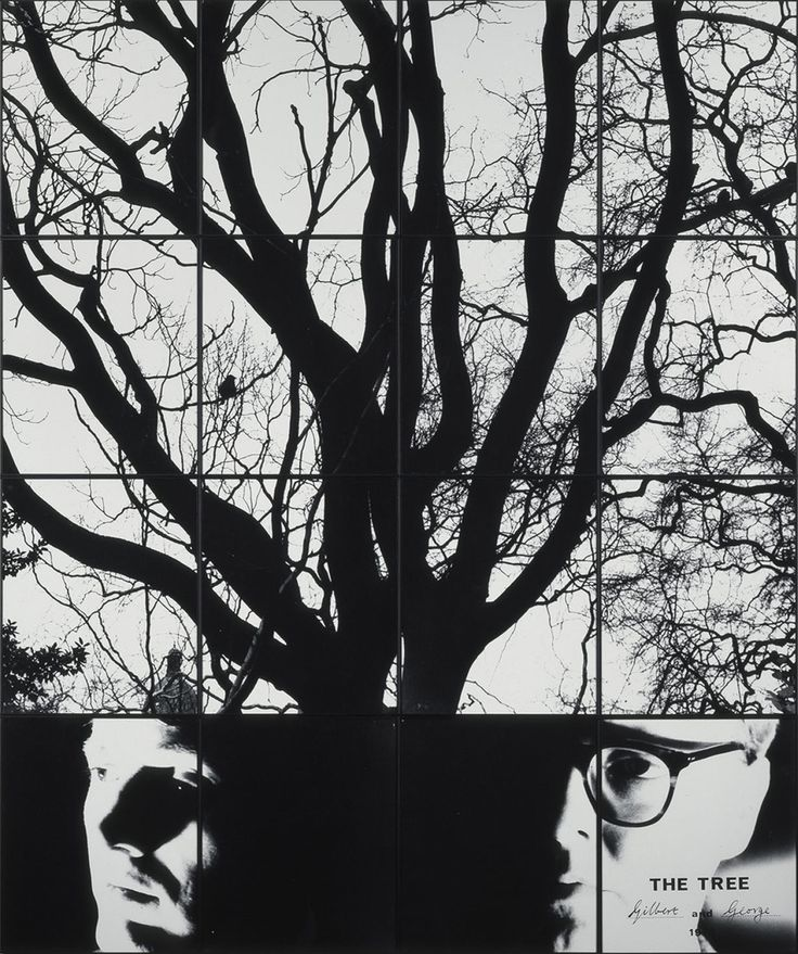 Gilbert and George (1943-, 1942-)  The Tree  Date: 1978