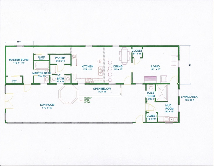Ideas to remodel a trailer grama sues floor plan play for Acreage homes floor plans