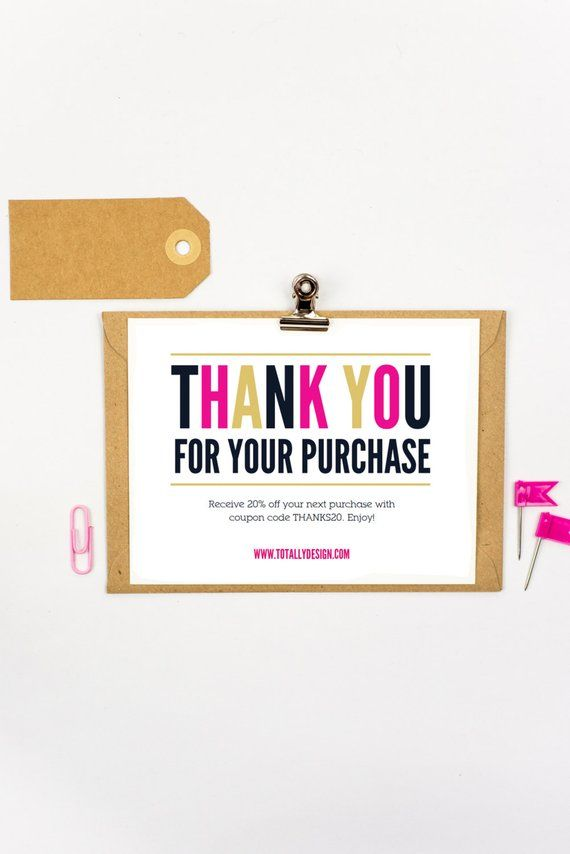 Business Thank You Cards Are Quick And Affordable To Create With This Pdf Template Printer Printable Thank You Cards Thank You Card Template Thank You Cards