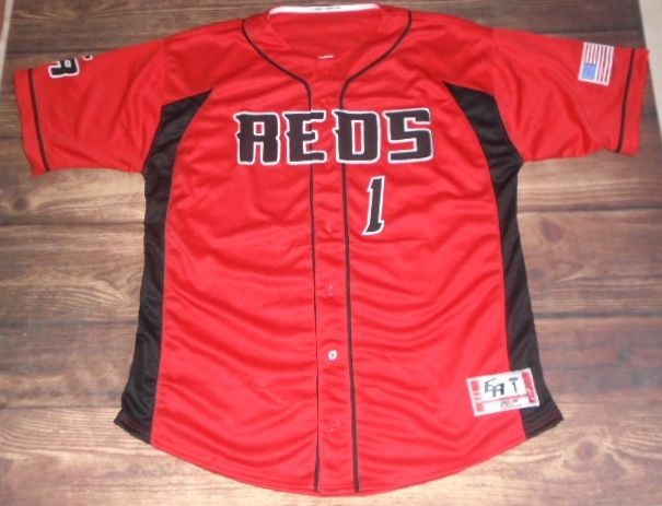 Check out this custom jersey designed by Reds Baseball and created at DK's Hockey Shop in Enfield, CT! http://www.garbathletics.com/blog/reds-baseball-custom-jersey-6/ Create your own custom uniforms at www.garbathletics.com!