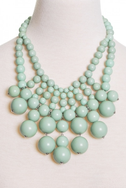 Mint Julep Necklace