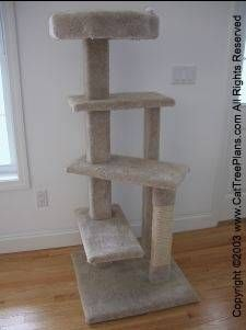 Of course a cat tower for my kitty. Very important stuff I'm thinking Hope may need this ;)