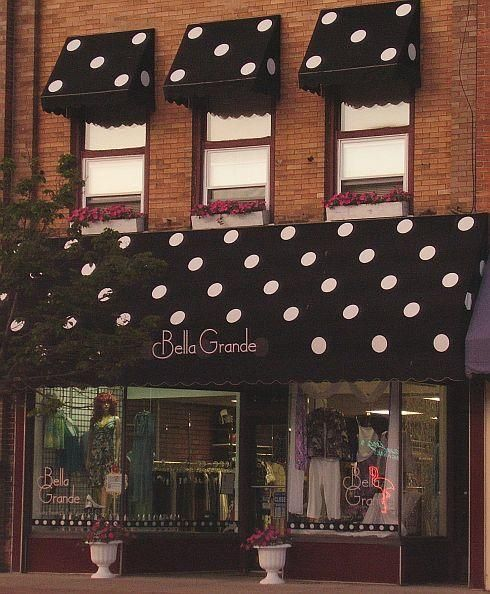 Awnings Adding A Splash Of Color And Identity Consignment ShopsJewelry StoresBoutique