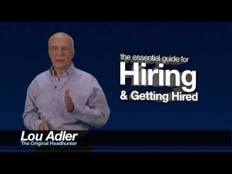 How to Get a Job in the Hidden Job Market in 2015 | Lou Adler | LinkedIn
