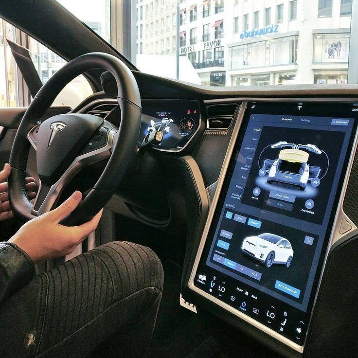#Tesla  Credits ©@super_cars_europe  #car #interior #carinterior #luxury #design