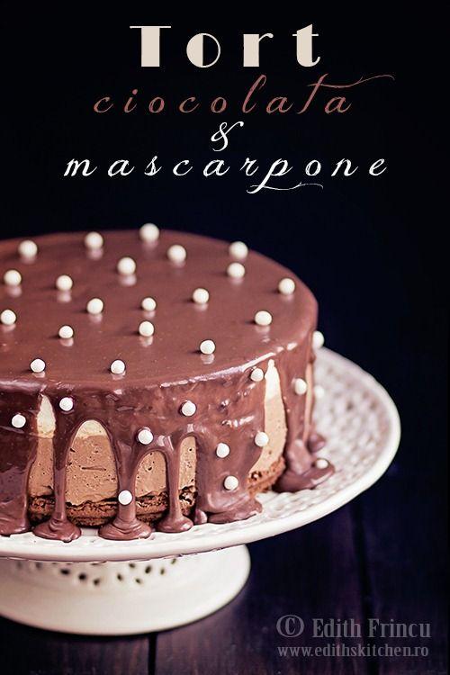 TORT CU CIOCOLATA SI MASCARPONE (done)